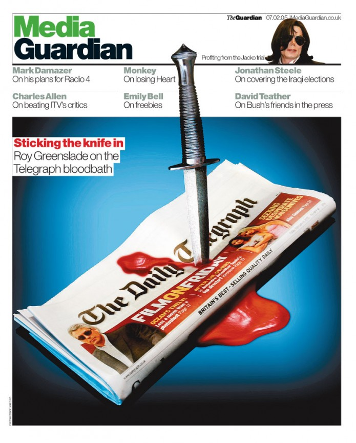 Sticking the knife in - The Guardian
